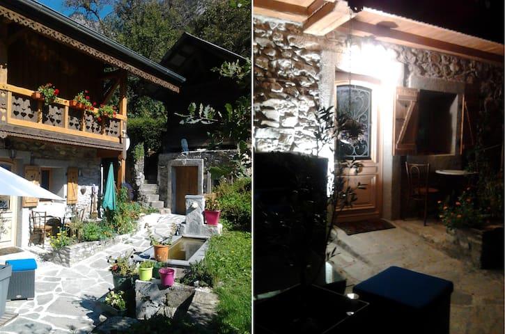 Angys, magnifique studio tt confort, et terrasses. - Saint-Jean-d'Aulps - House