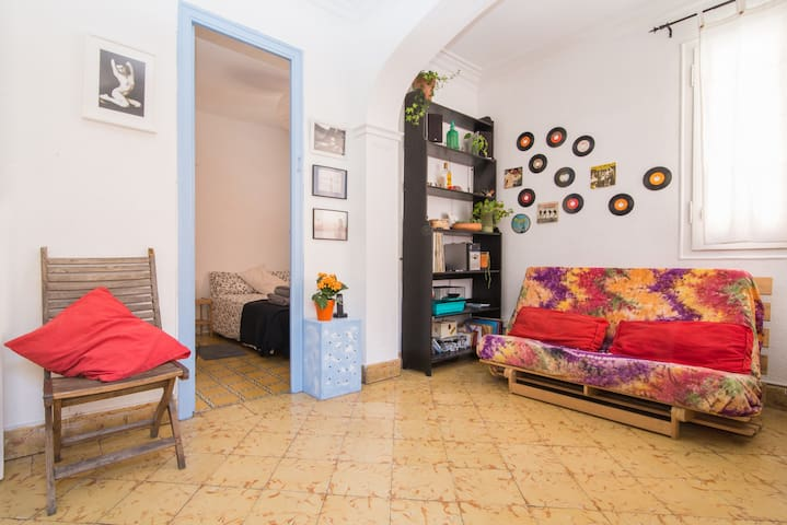 habitación en Barcelona,Zona sants. - Barcellona - Condominio