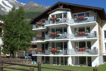 Amici - wohlfühlen und geniessen, 4-Zimmerwohnung - Saas-Grund - Huoneisto