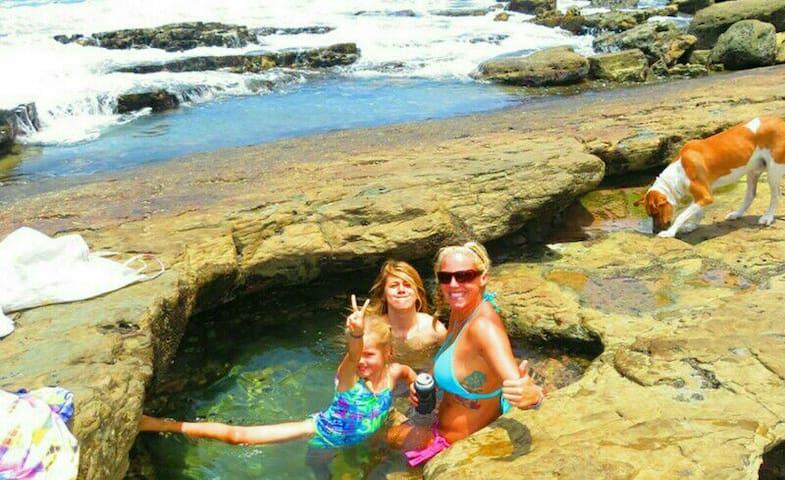 Rock Pools at low tide