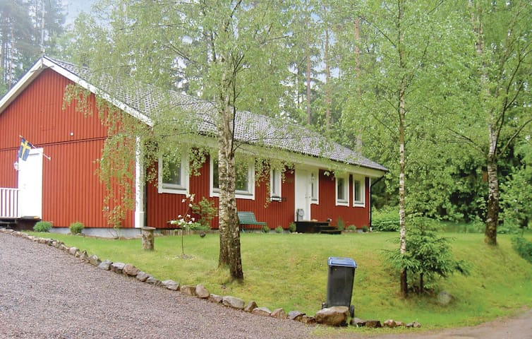 Holiday cottage with 4 bedrooms on 125 m² in Markaryd