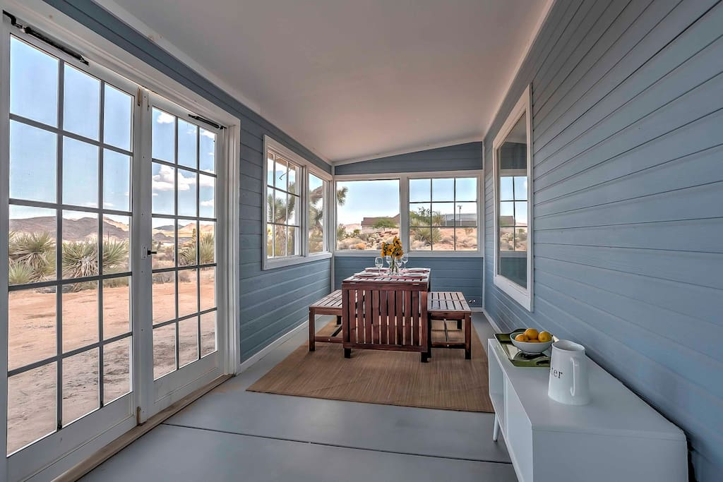 Experience the best of the desert at this 2-bed, 1.5-bath vacation rental house.