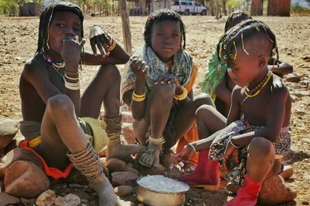 Himba School Experience at Omuhonga - Okongwati