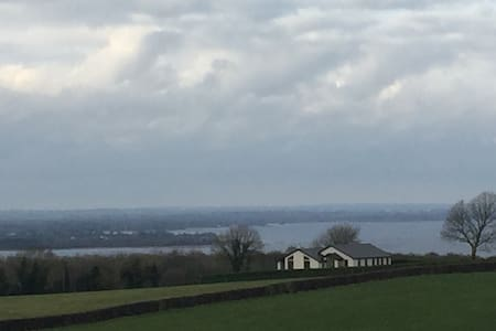 Clare View House on the hill over Lough Derg