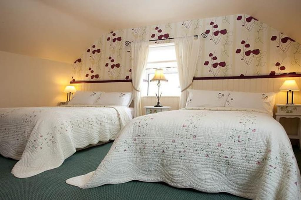 2nd bedroom (2 double bed) with own bathroom located at second floor