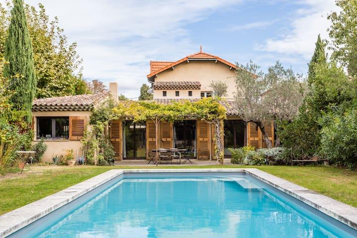Villa de charme à pied du Centre d'Aix en Provence