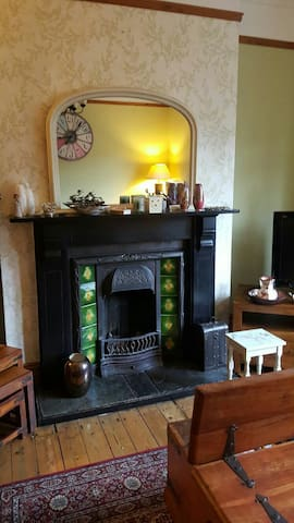 Lovely character terraced house close to beach. - Whitley Bay - Talo