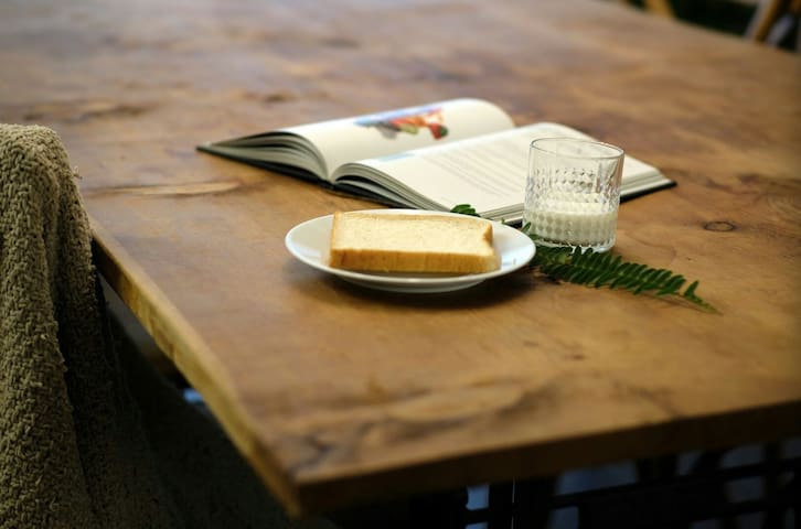 开启你的早餐模式(公寓提供餐具等,食材需自行采购)