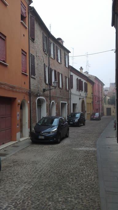 Via Belfiore verso via Saraceno