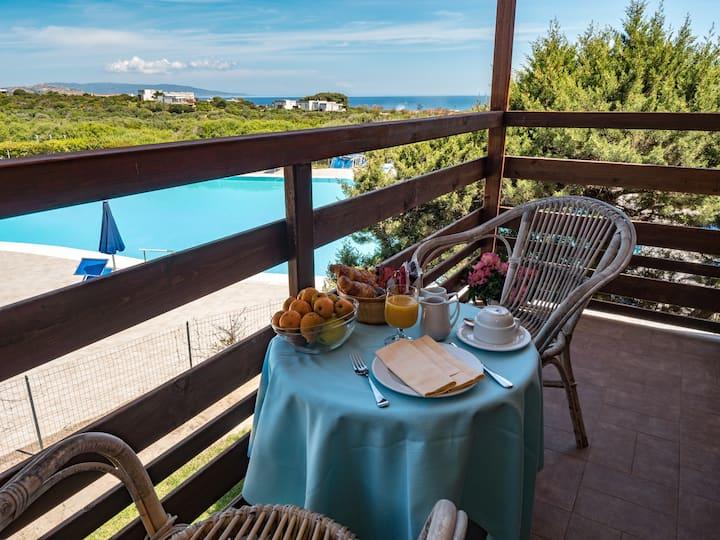 Double SEA VIEW Room+BreakfastBuffet+SwimmingPool+