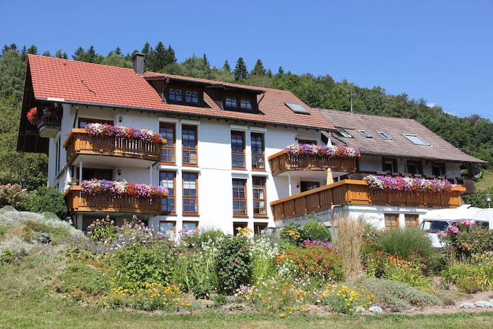 2#Ruhige, familiäre Fewo 58m², Zell i. W - Gresgen - Zell im Wiesental - Apartemen
