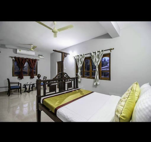 A quite space ideally located in the heart of Goa
