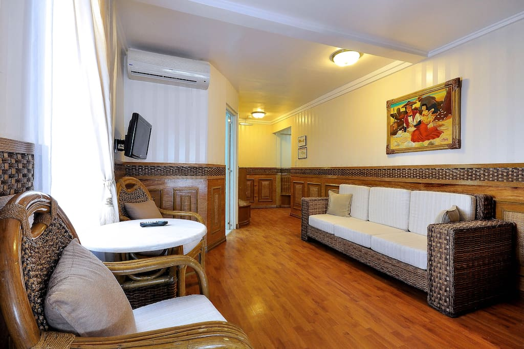 A Suite Room for 2, just steps away from White Beach Station 2.