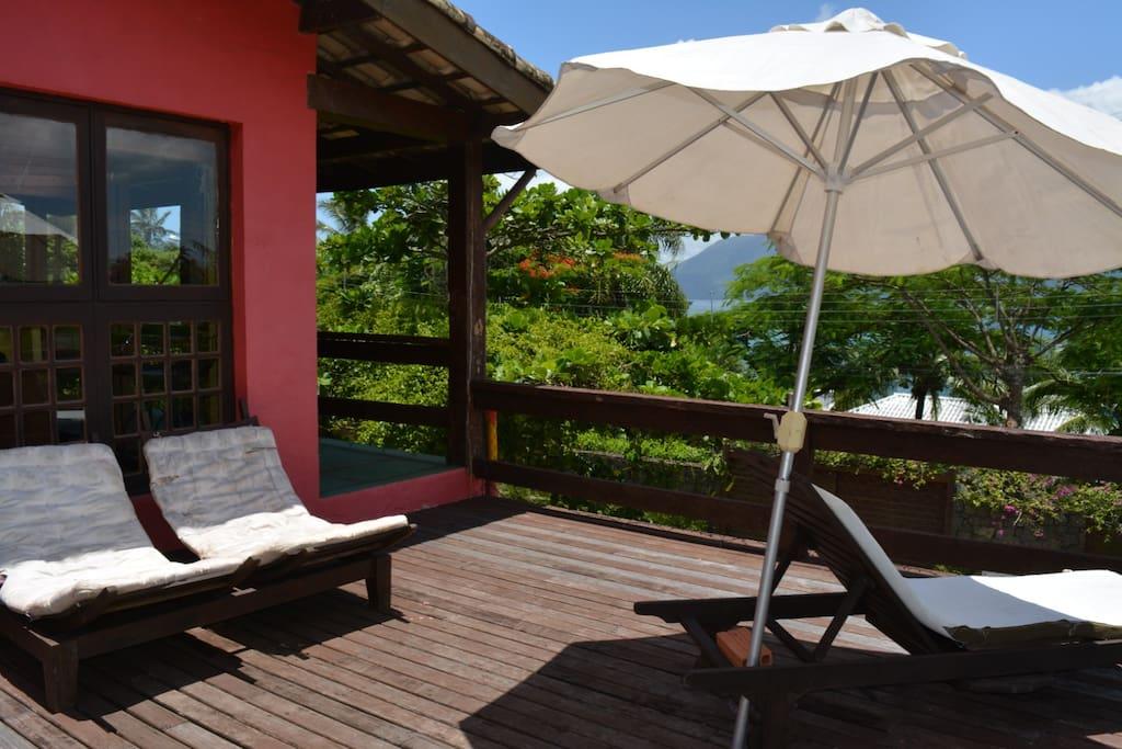 Deck superior para relaxar