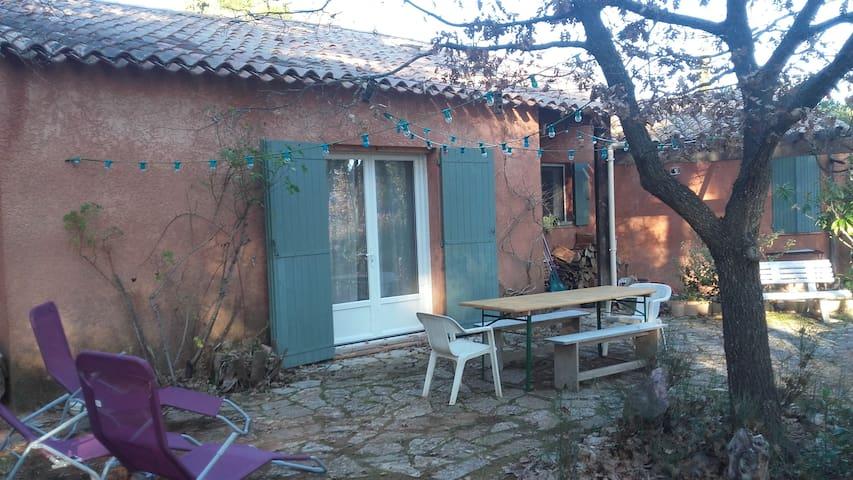 maison 110m2 + dependence 30m2 - Gordes - House