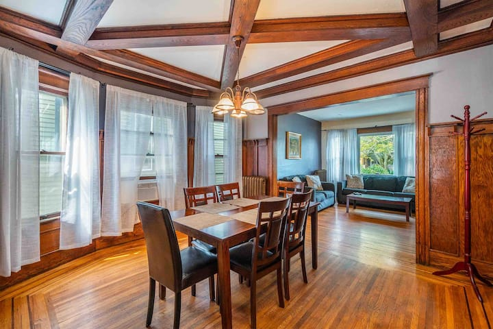 Spacious Historic Home In Elmwood Village