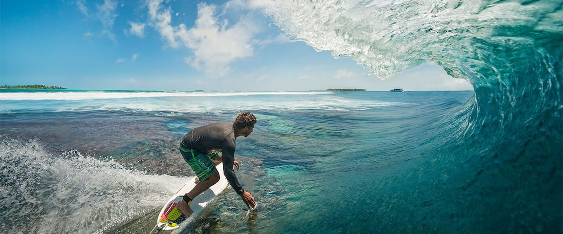 Surf Paradise on Maldives, full board offer