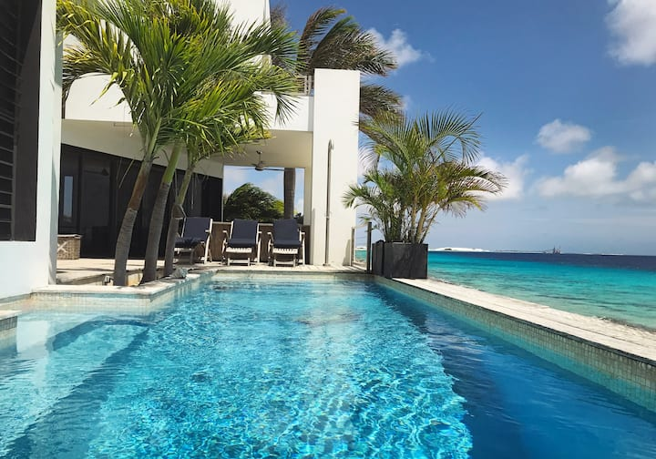 ♥️ Excellent Oceanfront vacation villa on Bonaire