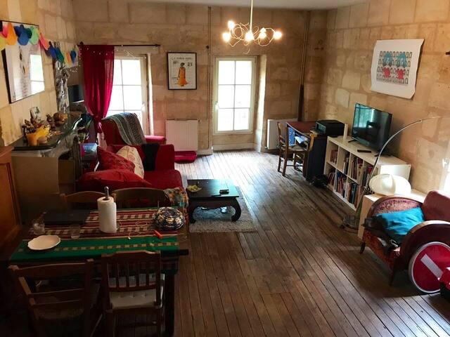 Chambre dans une maison très charmante