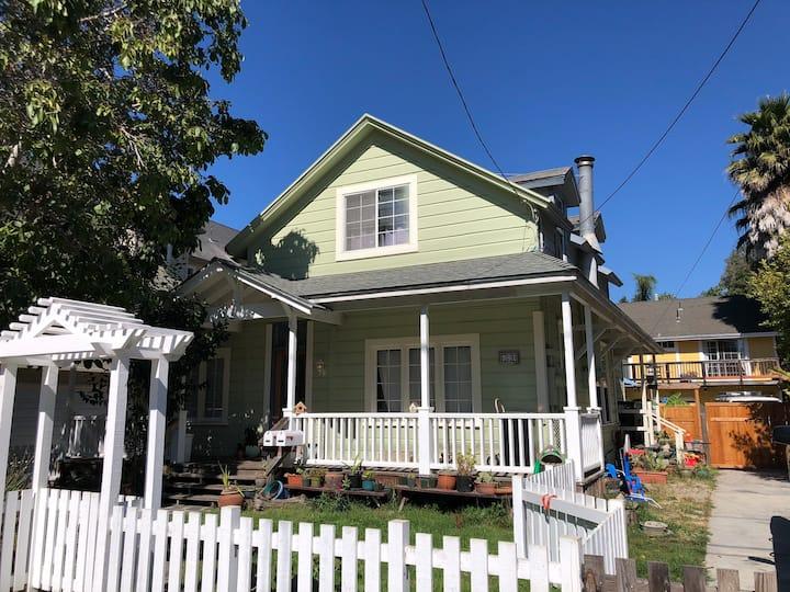 Private Sunlit Home Downtown Santa Cruz
