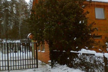 Дом в Тюмени посуточно - Tyumen' - 自然小屋