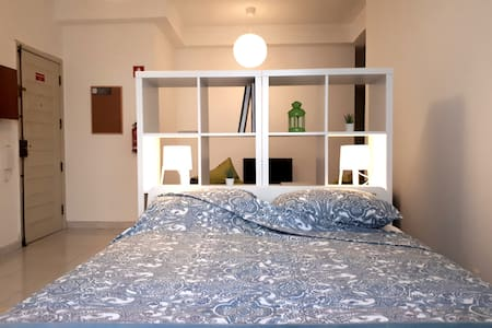 Green Home* / a flat for 2 near blue line metro