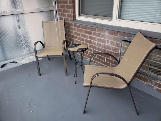 Cozy on Cozine studio in Brooklyn w/ balcony.