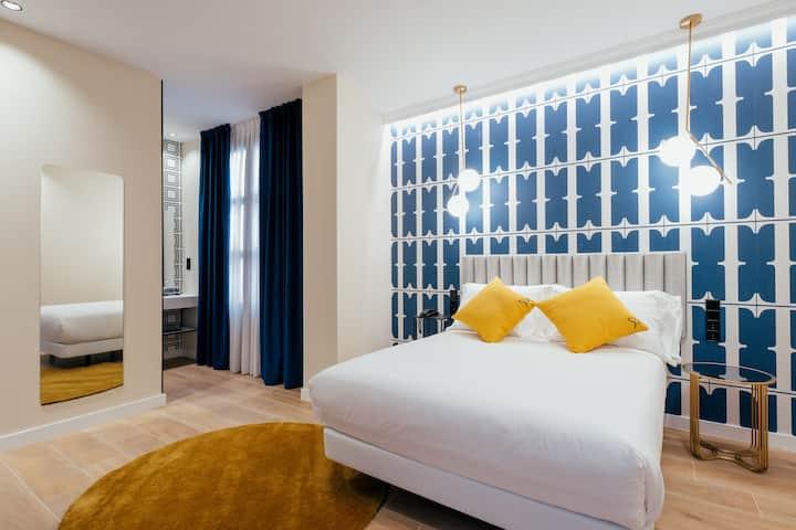 Habitación individual estándar con desayuno en Hotel Cetina Sevilla