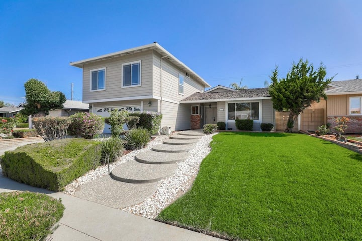 Charming House in San Jose Evergreen 5Br/3Bt 8Bed