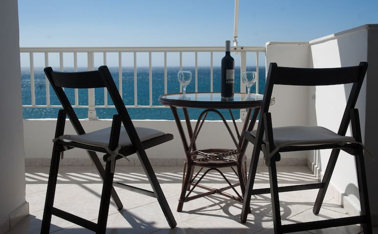Spacious luxurious flat - magnificent sea view - Ierapetra - Appartement