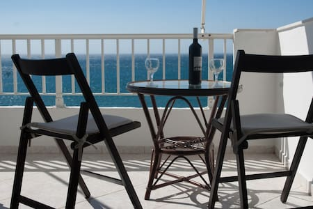 Spacious luxurious flat - magnificent sea view - Ierapetra - Lägenhet