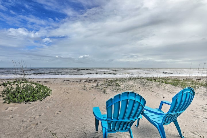 NEW! Oceanfront Indialantic Home w/ Outdoor Space!