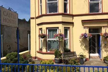 2 single beds in 1 room in Castle Hostel - Ballycastle