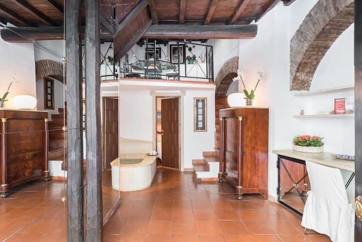 Cedro Terrace&Jacuzzi - Loft in Trastevere