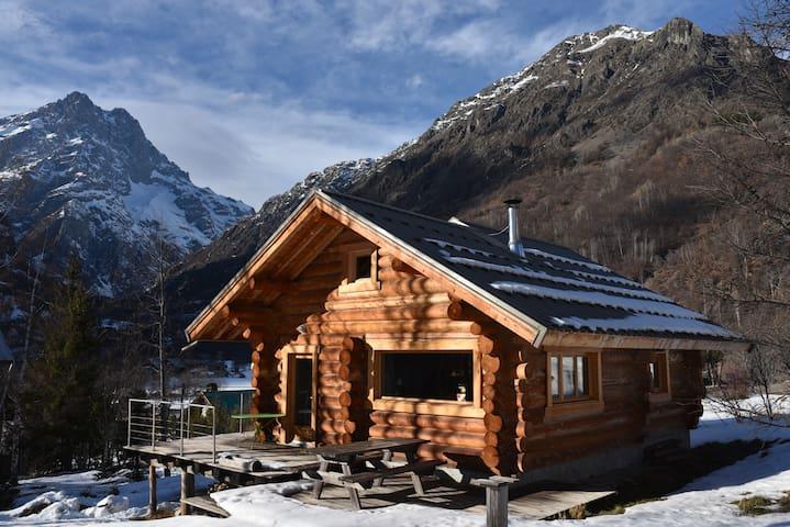 La Fuste - Chalet de charme - Pelvoux - Chatka w górach