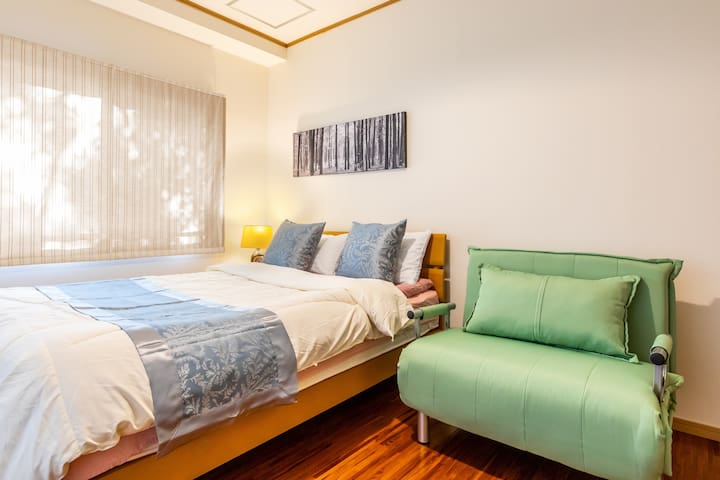 3rd bed room (one double bed and one sofa bed)