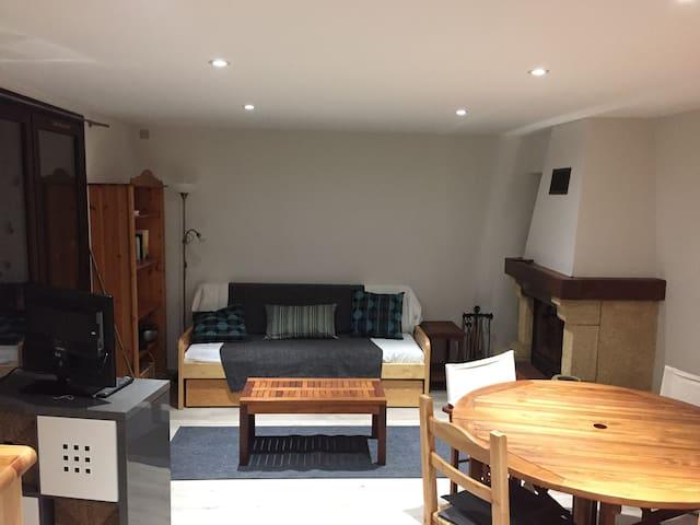 Appartement Allemond avec jardin pour 6 personnes