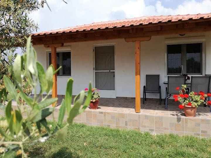 Comfortable house 100m from sea...!!