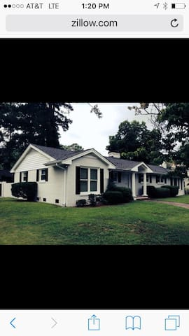 Ranch home fully furnished - Lumberton - Hus
