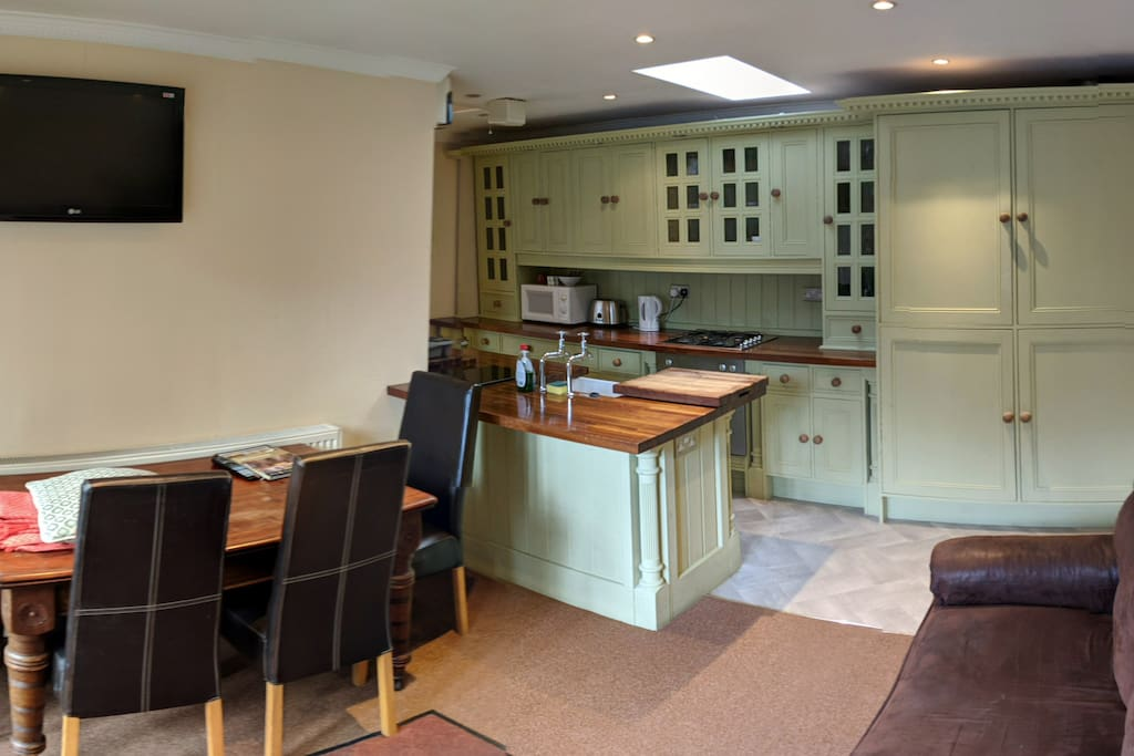 Living space/ kitchen