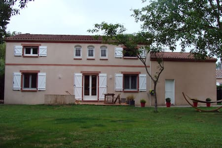 Maison familiale en campagne Toulousaine - 8 pers. - Sainte-Foy-d'Aigrefeuille - Haus