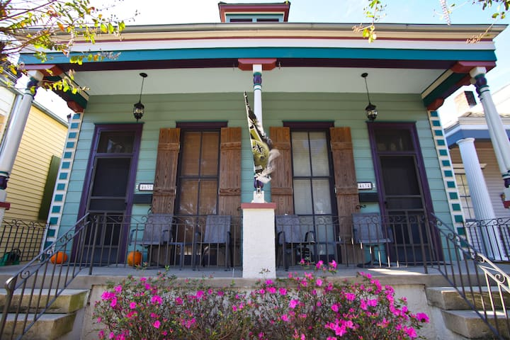 Great Location, City Park, Bikes, Streetcar & more - New Orleans - Talo