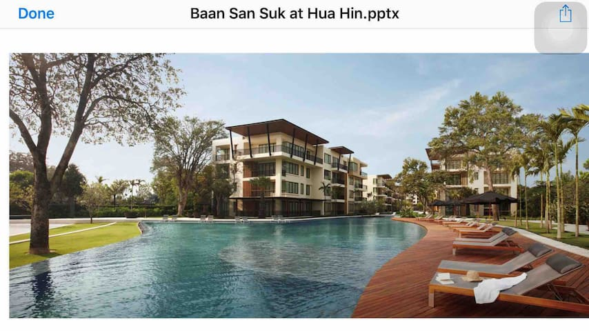 Baan Sansook Ground Floor Penthouse, Huahin.