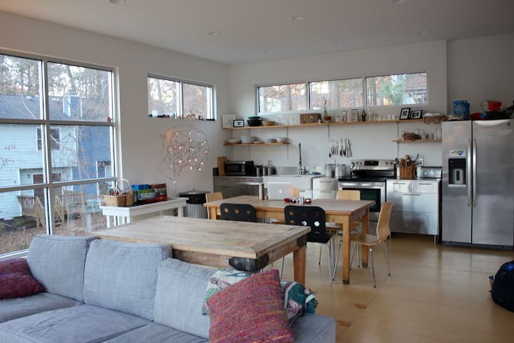 Modern Glass House in Chapel Hill/Carrboro
