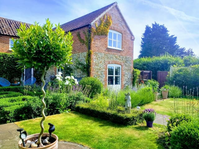 Charming country house and garden