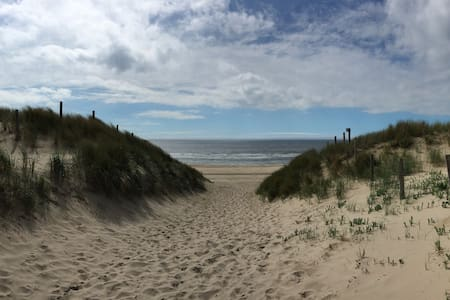 Knus zomerhuisje dichtbij zee,