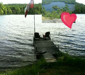 Cozy 3 bedroom lakefront cottage - Barry's Bay - Kabin