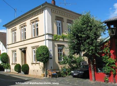 Wohnen im Schloßhof  - Waldlaubersheim