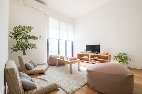Delightful Japandi Retreat | MUJI concept