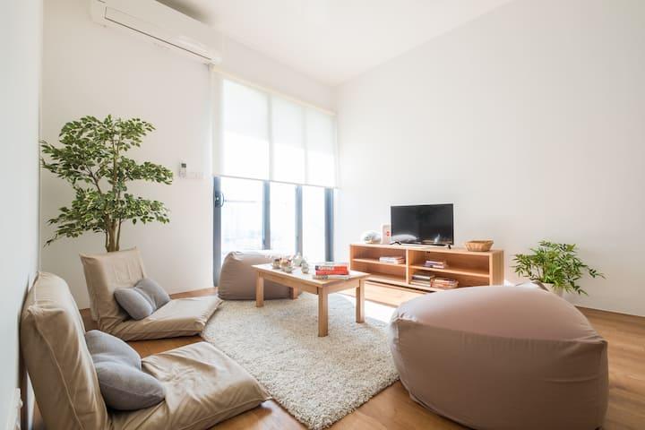 Delightful Japandi Retreat | MUJI concept